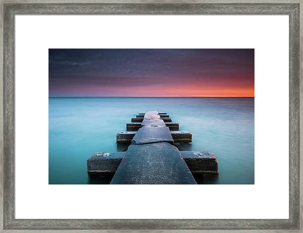 Big Bay Framed Print