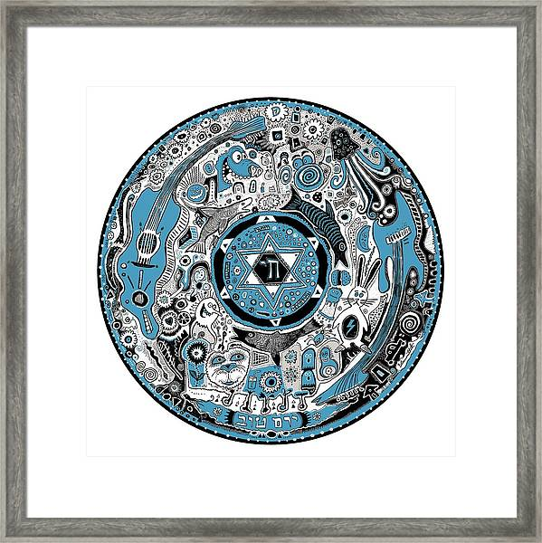 Big Disk Framed Print