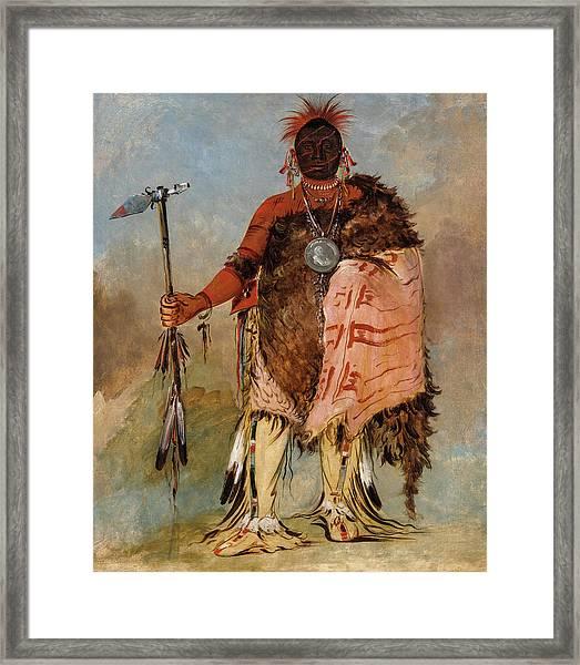 Big Elk, A Famous Warrior Framed Print