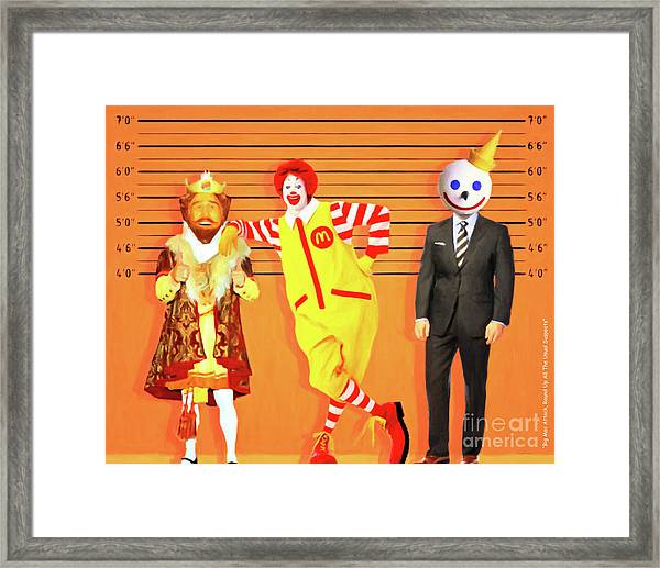 Big Mac Attack Round Up All The Usual Suspects 20180919 Framed Print