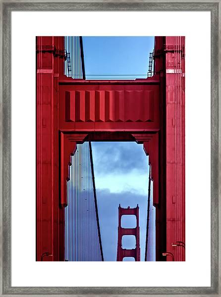 Big Red Framed Print