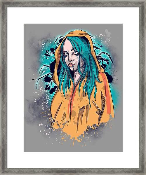 Billie Framed Print