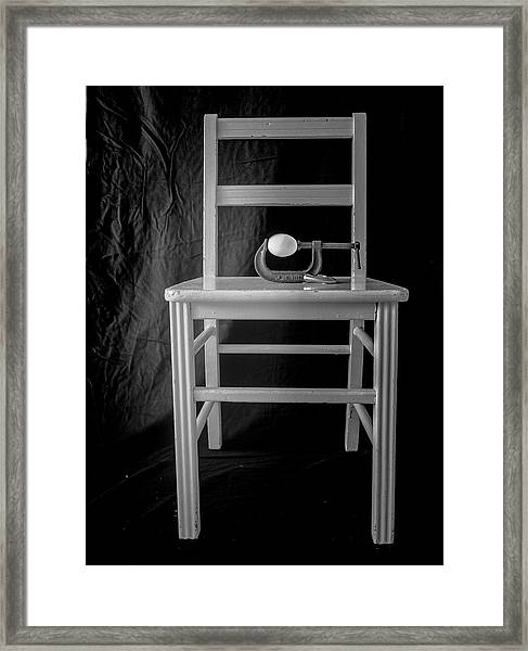 Bird / The Chair Project Framed Print