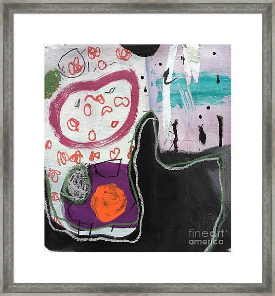 Bisou Framed Print