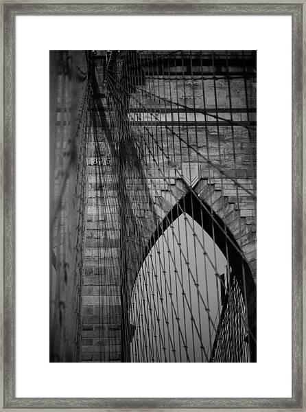 Black And White Shoot Framed Print