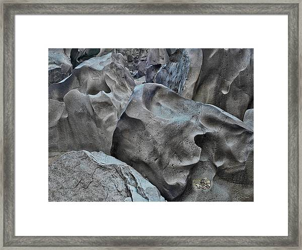 Black Magic Canyon 5b Framed Print by Leland D Howard