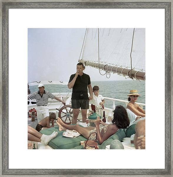 Black Pearl Trippers Framed Print