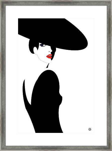 Black Widow 1 Framed Print