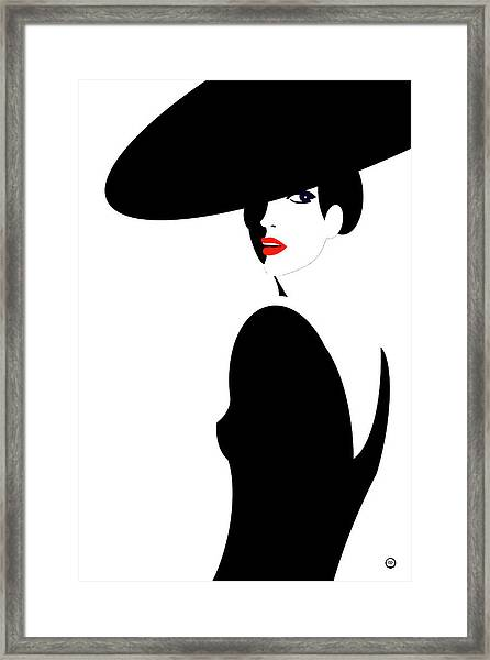 Black Widow 2 Framed Print