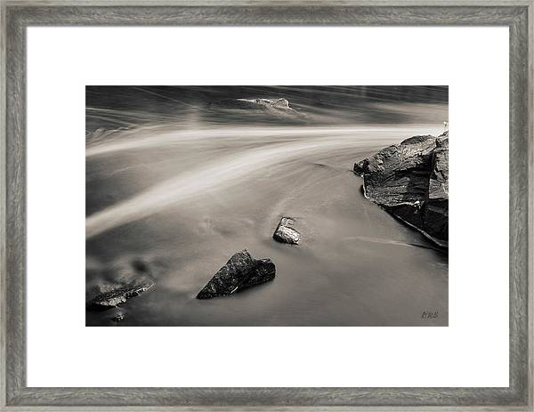 Blackstone River II Albion Toned Framed Print by David Gordon