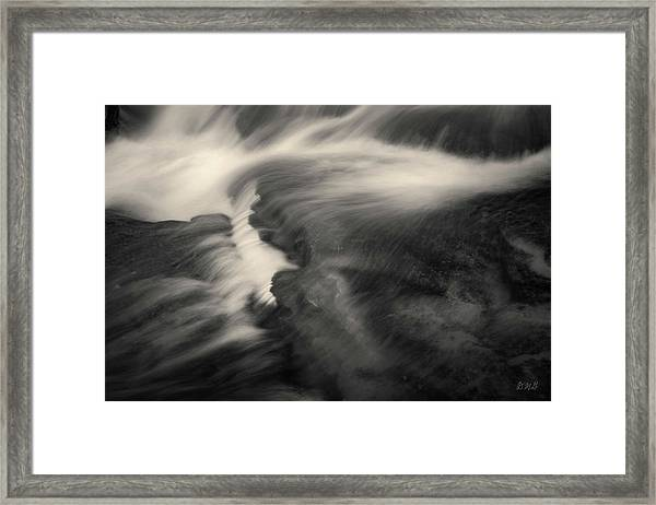 Blackstone River Xxv  Toned Framed Print by David Gordon