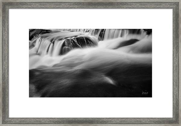 Blackstone River Xxxviii Bw Framed Print by David Gordon