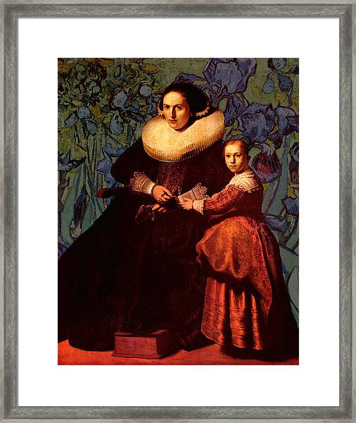 Blend II Rembrandt Framed Print