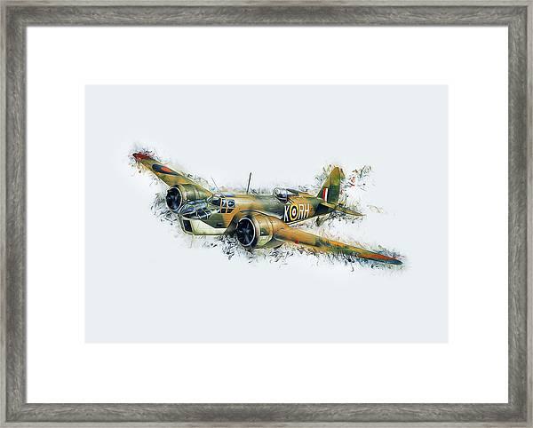 Blenheim Bomber Framed Print