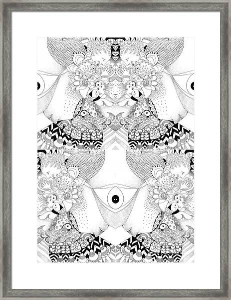 Blessed Be 3 Framed Print
