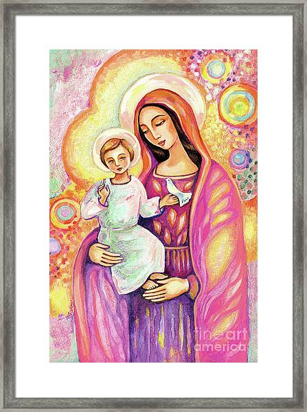 Blessing From Light Framed Print