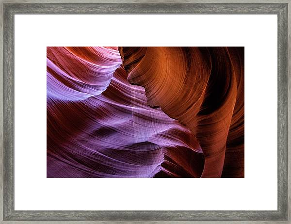The Body's Earth 2 Framed Print