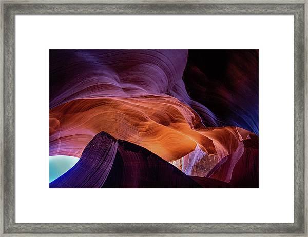 The Body's Earth 4 Framed Print
