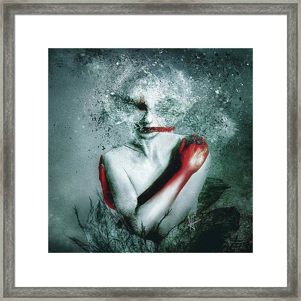 Blooming Protection Framed Print