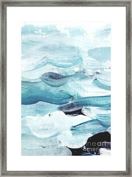 Blue #14 Framed Print
