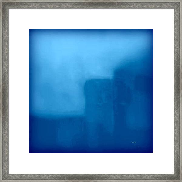 Blue Day - The Sound Of Silence  Framed Print