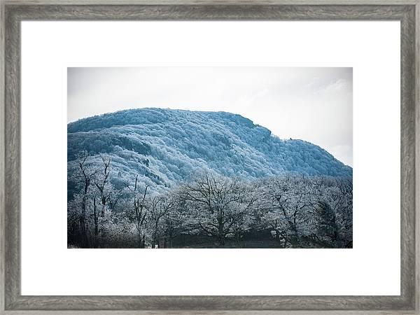 Blue Ridge Mountain Top Framed Print