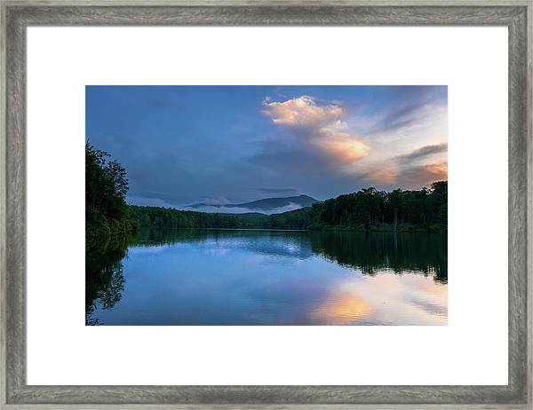 Blue Ridge Parkway - Price Lake - North Carolina Framed Print