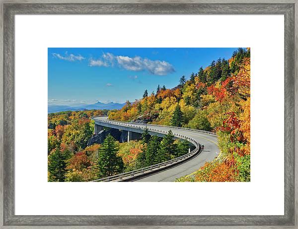 Blue Ridge Parkway Viaduct Framed Print