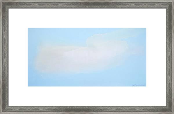 Blue Skies Ahead Framed Print