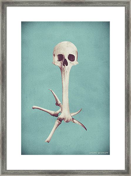 Blue Syzygy Framed Print
