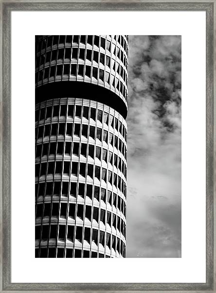 Bmw Vierzylinder Framed Print