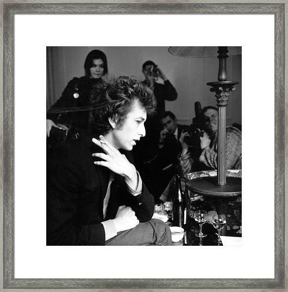 Bob Dylan 1965 Framed Print