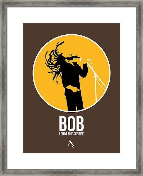 Bob Poster Framed Print