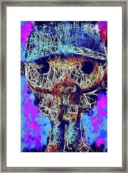 Bobby Supernatural Pop Framed Print