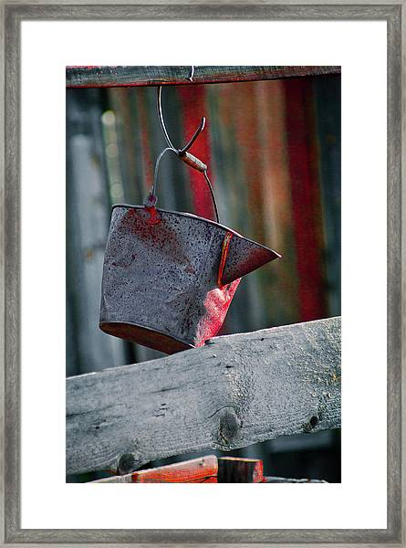 Framed Print featuring the photograph Bodie 52 by Catherine Sobredo