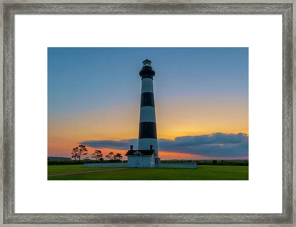Bodie Island Lighthouse, Hatteras, Outer Bank Framed Print
