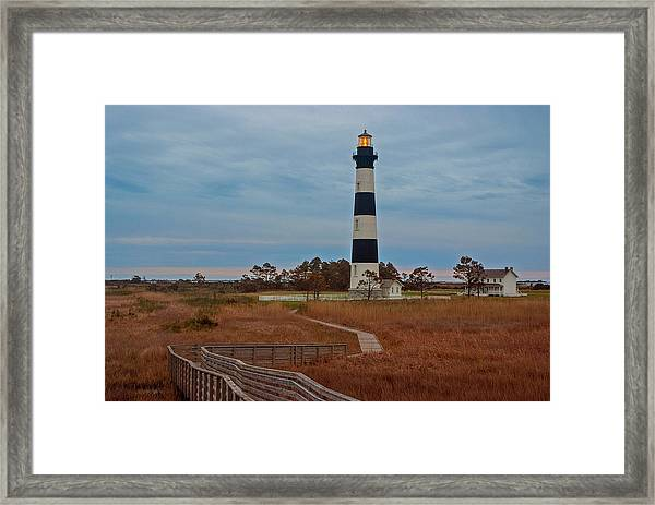 Bodie Island Lighthouse No. 4 Framed Print