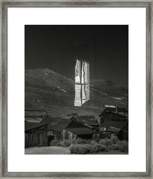 Bodie Reflections Framed Print by Joseph Smith