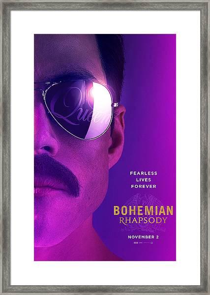 Bohemian Rhapsody Framed Print