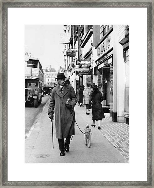 Bond Street Framed Print