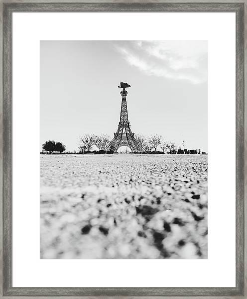 Bonjour Y'all Framed Print