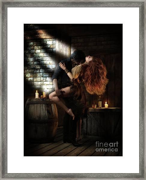Bootleggers Daughter Framed Print
