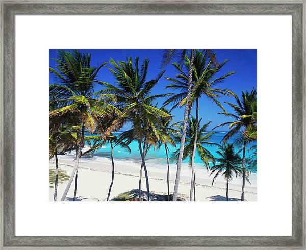 Bottom Bay, Barbados, Caribbean Framed Print