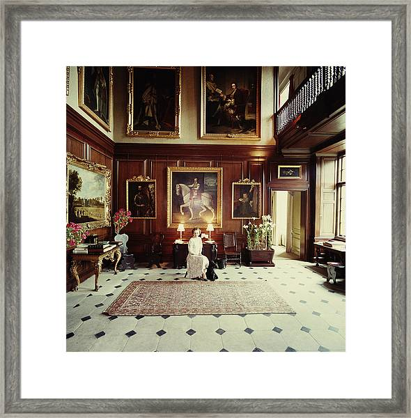 Boughton House Framed Print