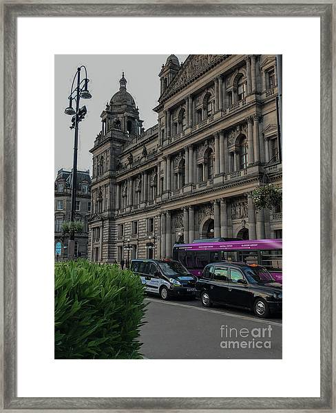 Bound For The Chambers Framed Print