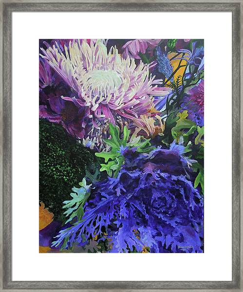 Bouquet 1 Framed Print