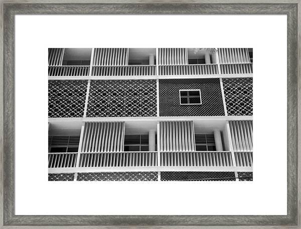 Brazilian Apartments Framed Print by Kurt Hutton
