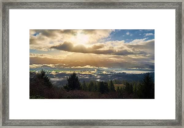Framed Print featuring the photograph Breakthrough by Whitney Goodey