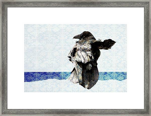 Breezy Framed Print