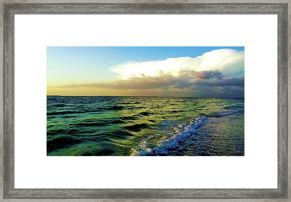 Brewing Storm Framed Print